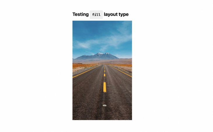 Testing Fill Layout Type