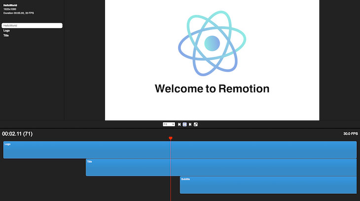 Viewing Exporting Remotion Video Individual Compositions