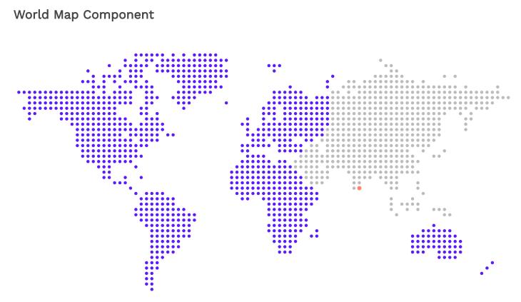 World Map Component