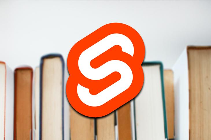 building svelte bookstore app example