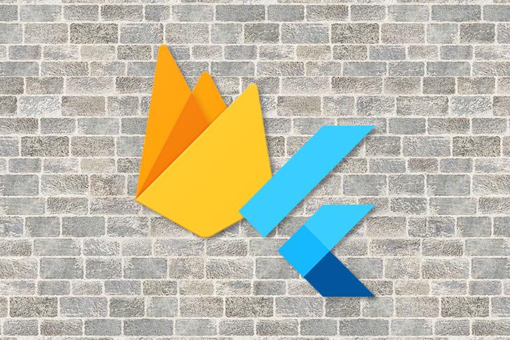Flutter and Firebase Logos