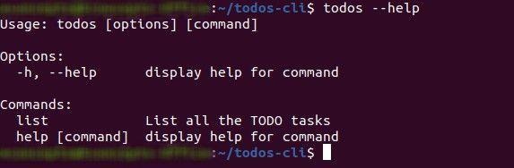 List Under Commands
