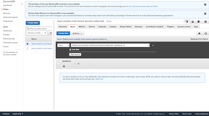 Viewing Newly Created User Record