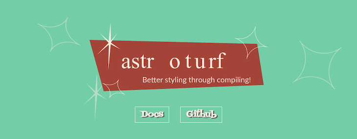 Astroturf Written On A Brown Card With A Green Background