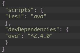 Screenshot of code indicating successful installation of AVA