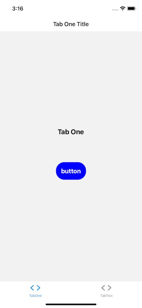 Button React Native Modal