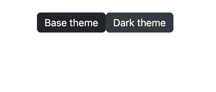 Dark Mode Buttons
