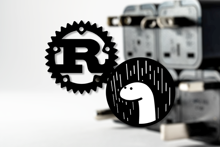 Rust and Deno Logos
