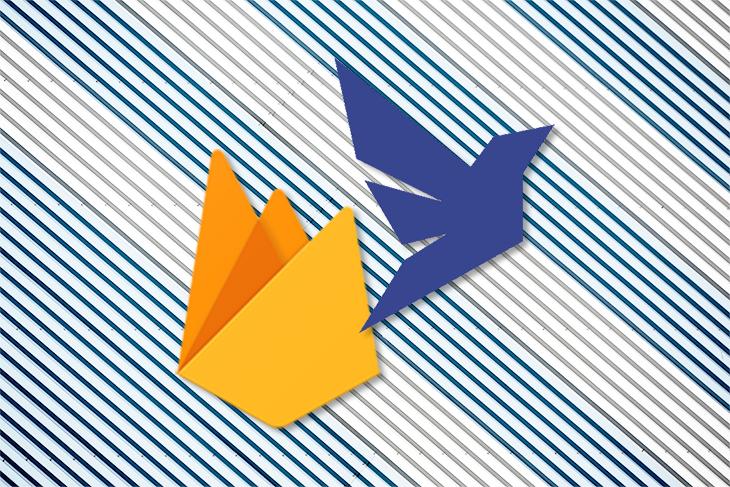 Firebase and Fauna Logos