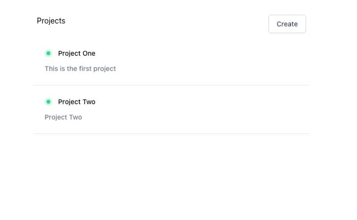 Firebase Project Data