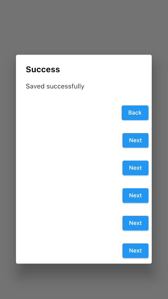 Flutter AlertDialog with Multiple Action Buttons