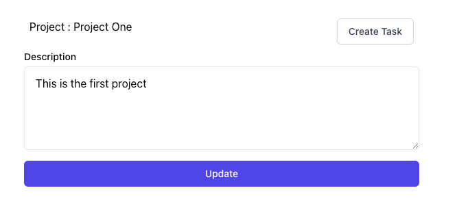 Update Project Data