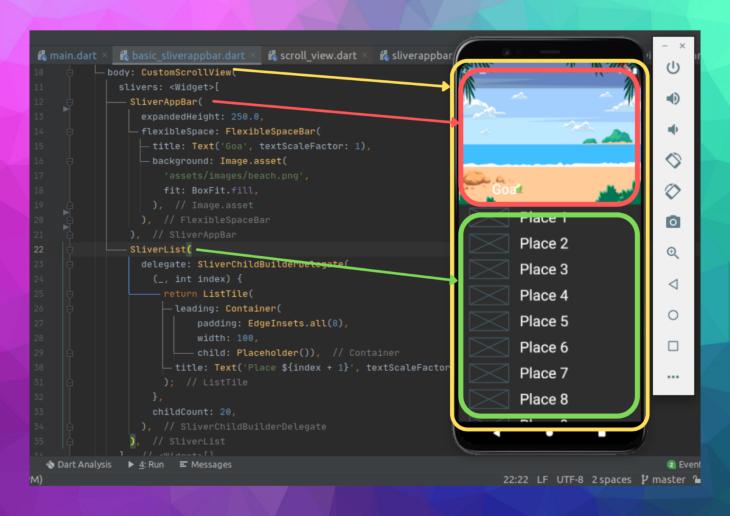 Code Translated Flutter Design