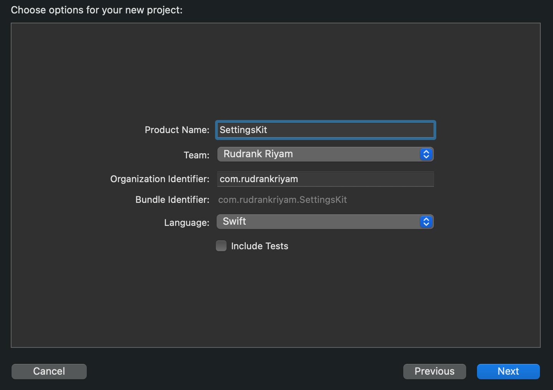 Initial Framework Info for Xcode