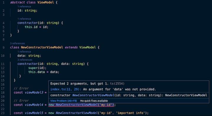 Error TS2554: Expected 1 Arguments But Got 1 Error in VS Code