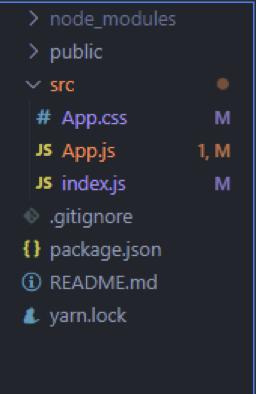 Src Folder Updated Setup