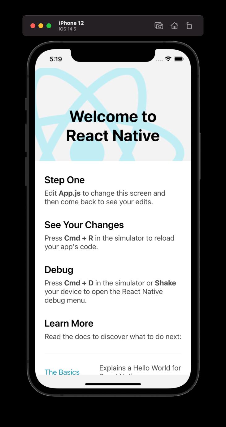 Welcome to React Native Screen