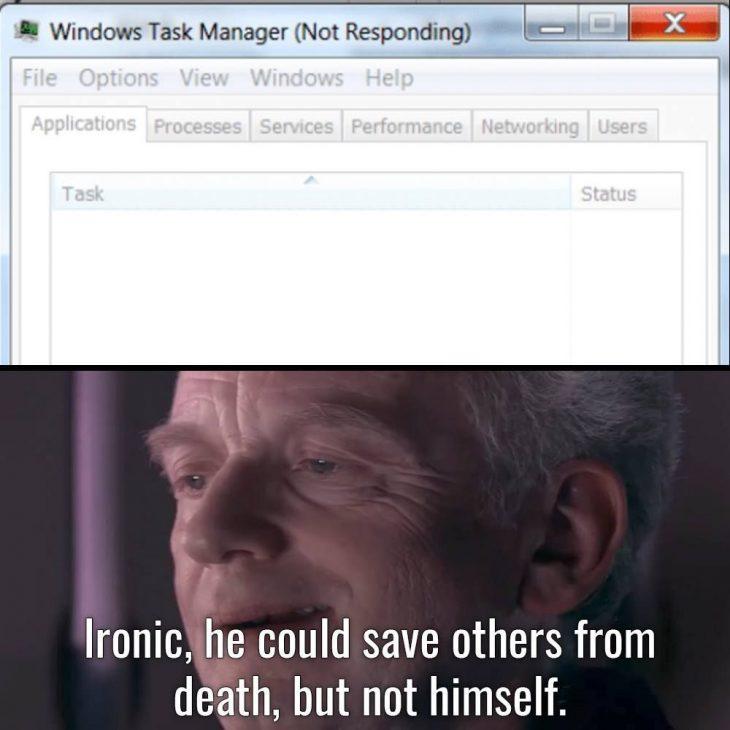 Windows Task Manager Meme