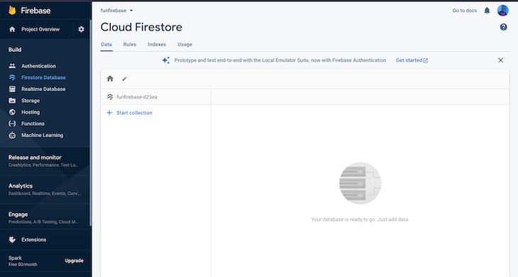 Adding To-Do Tasks Firestore Directory