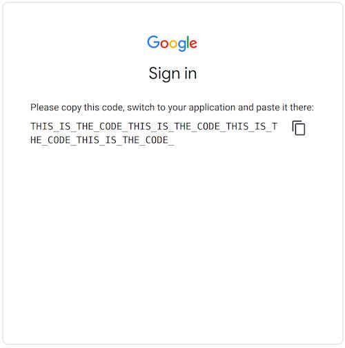 Authorization Code For Refresh Token