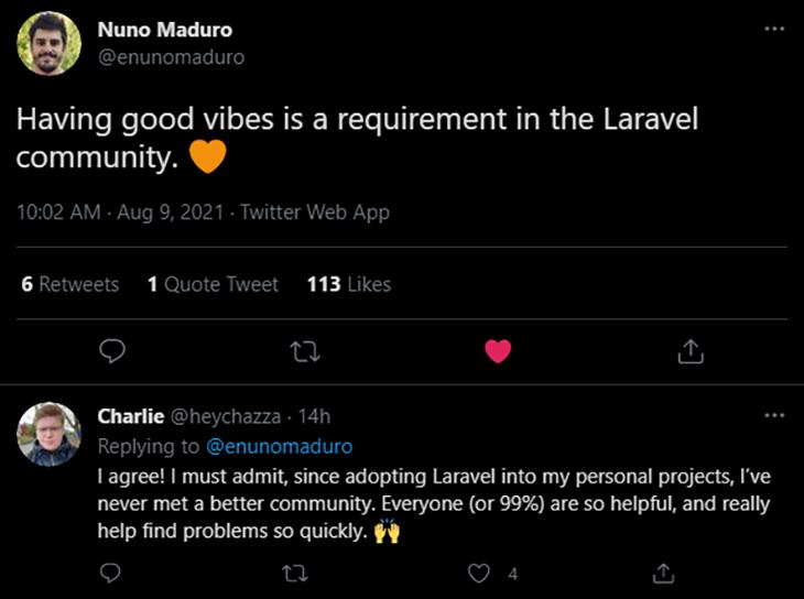 The friendly Laravel community!
