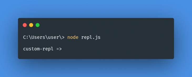 Node REPL.js App