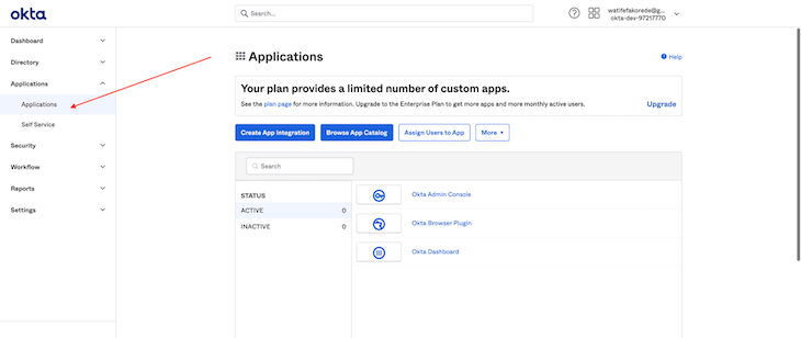 Application Page To Create A Single-Page Application