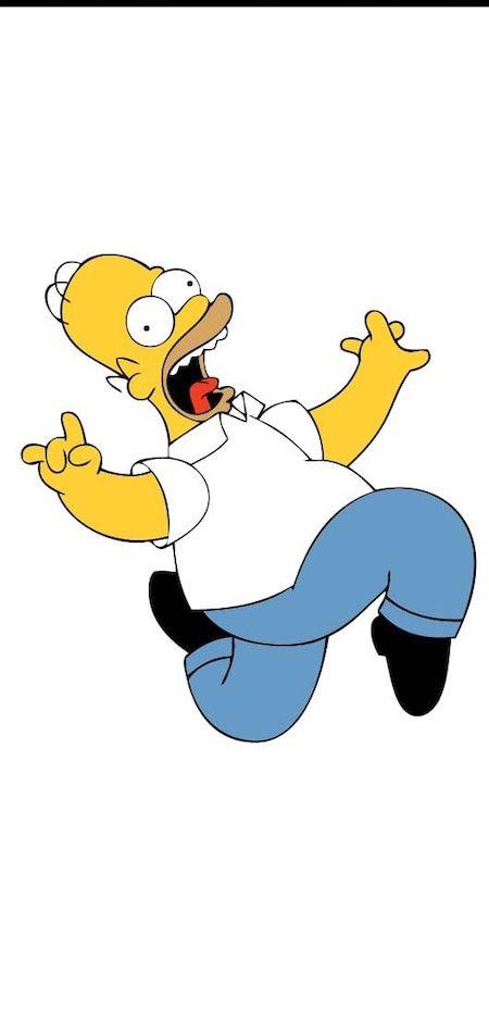 React Native SVG Homer Simpson Example