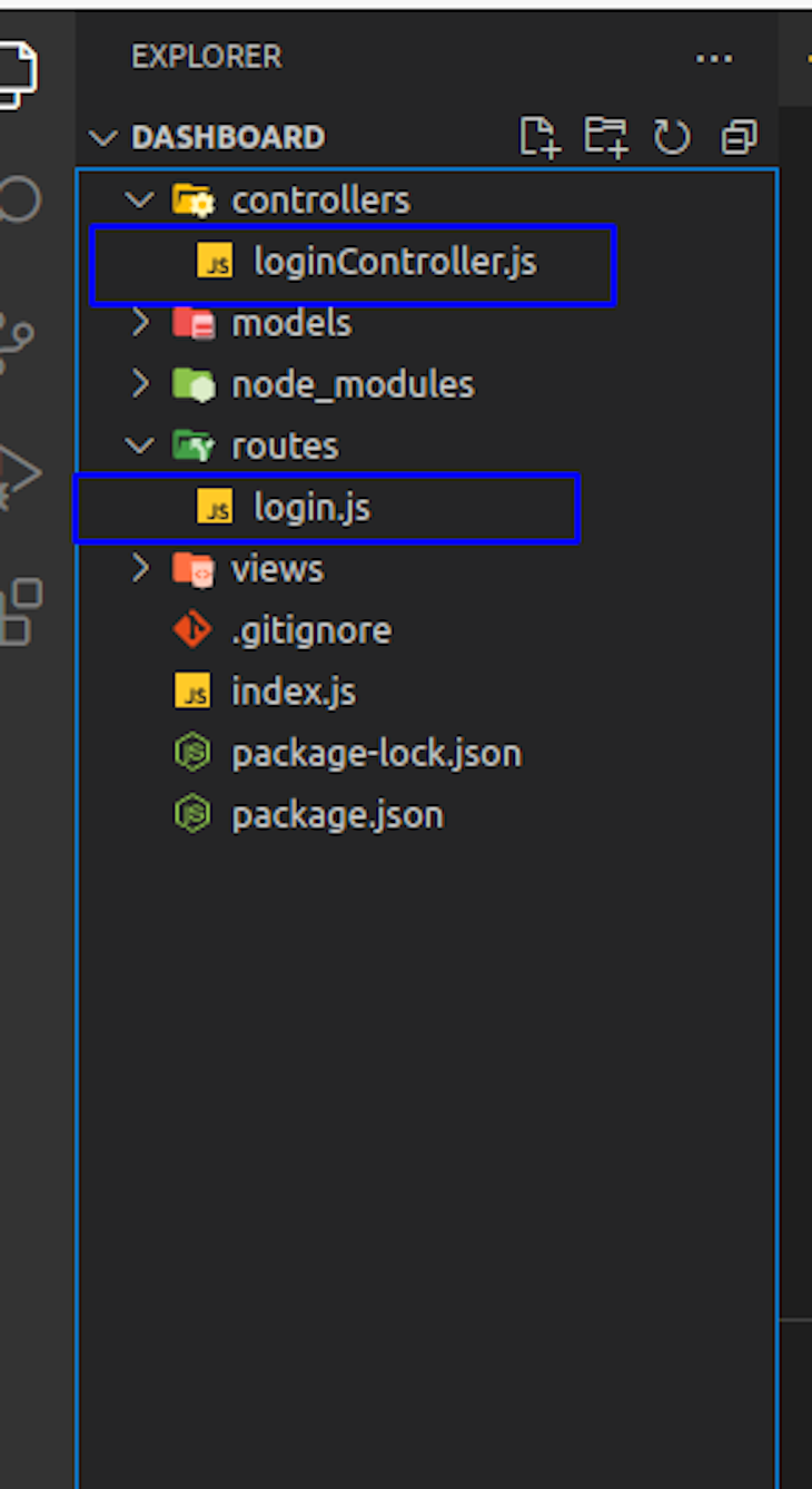 Creating The Routes Folder