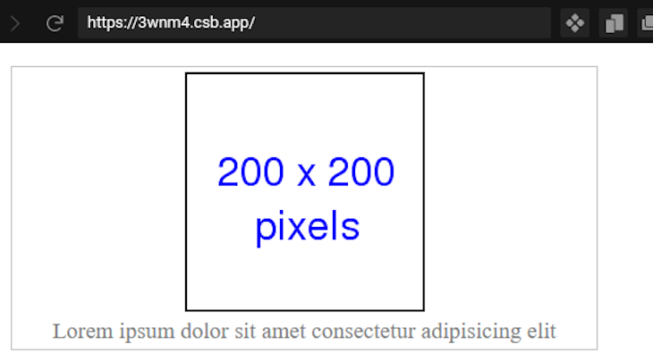 Giving A Figure Element A Border With A Caption Underneath