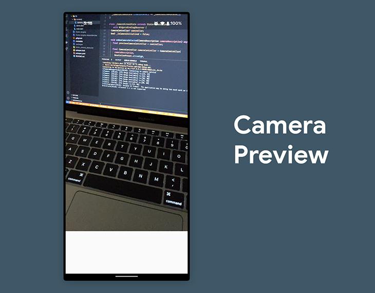 Camera preview