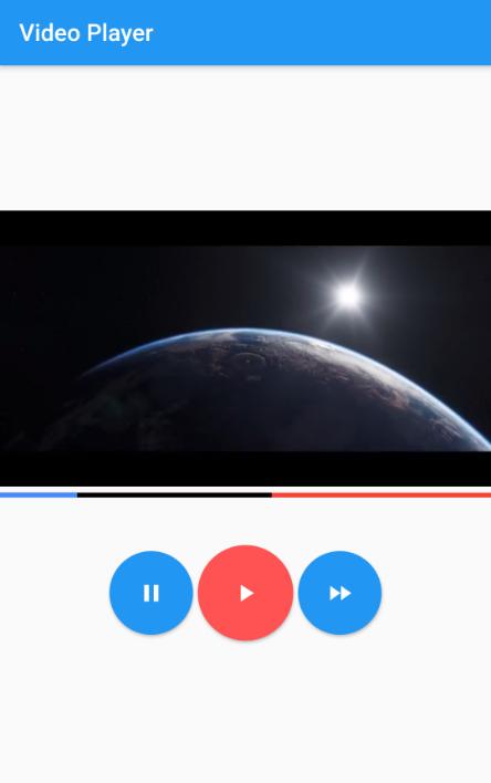 Flutter Video Progress Bar