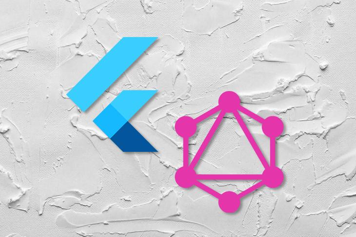 GraphQL and Flutter Logos