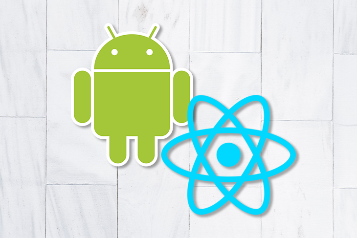 React Native and Google Play Store Logos