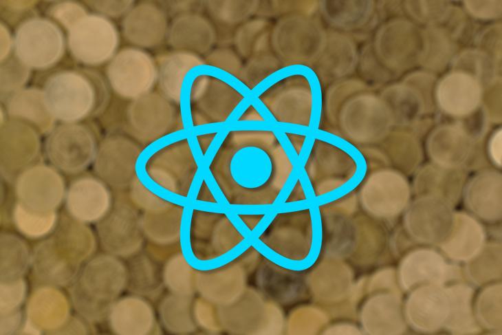 React Logo Over Tokens