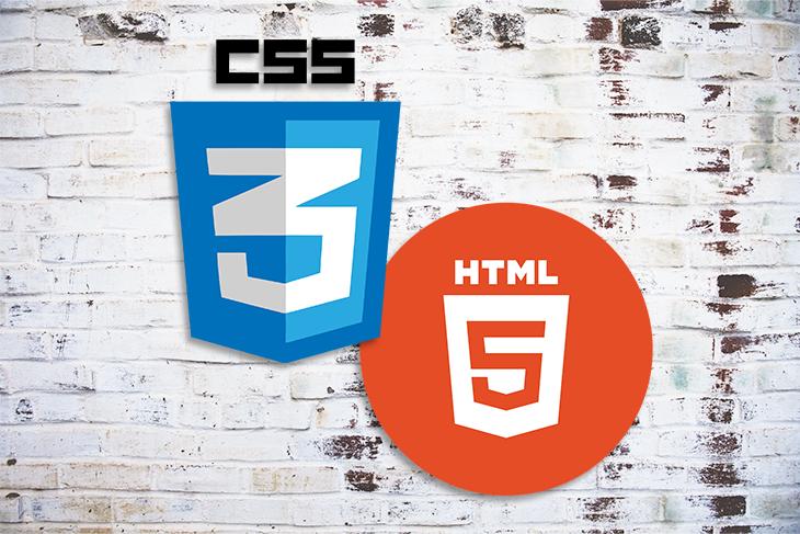 HTML5 and CSS Logos