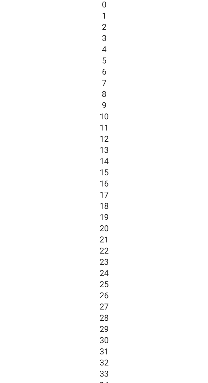 Vertical Line With More Numbers