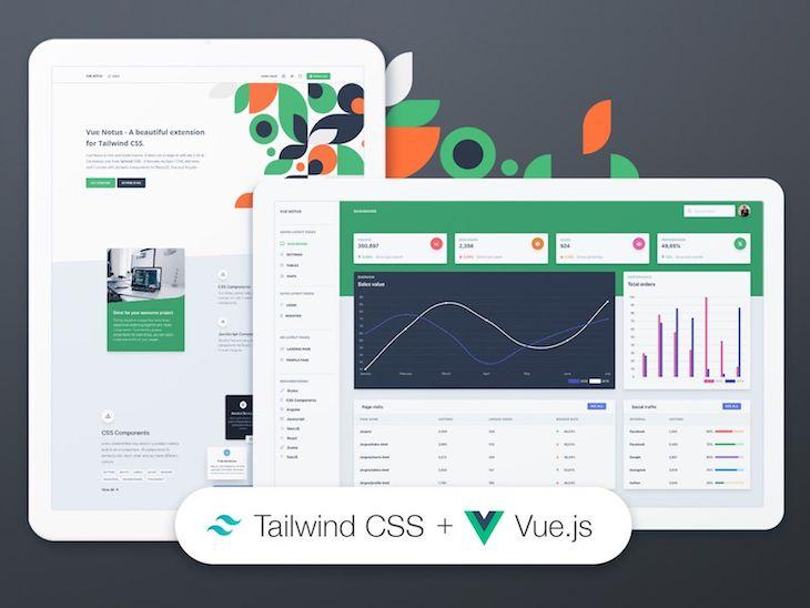 Vue Notus UI Dashboard