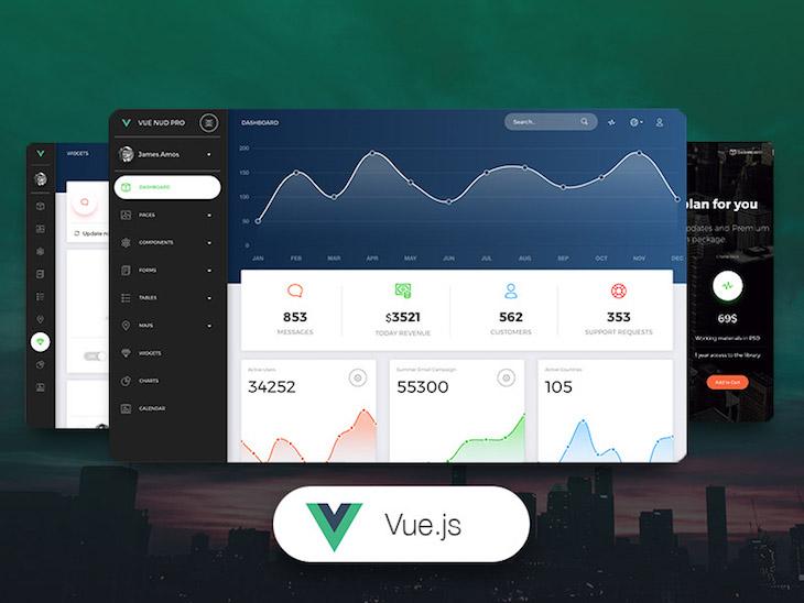 Vue Now UI Dashboard