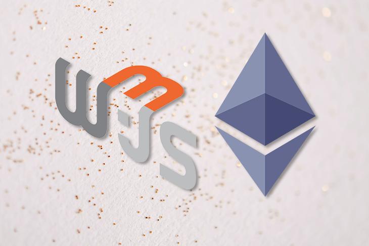Web.JS and Ethereum Logos